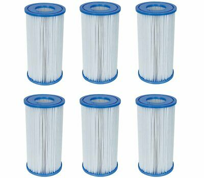 fd544568613 Coleman Swimming Pool A c Iii Filter Pump Replacement Cartridge 6 Pack For  Intex