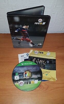 FIFA 16 - XBOX One Steelbook Limited/Special Edition Game - Complete