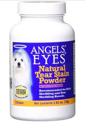 Stain Remover For Dogs Angels Eyes Chicken Formula Tear 75g 2.65 Oz All Natural