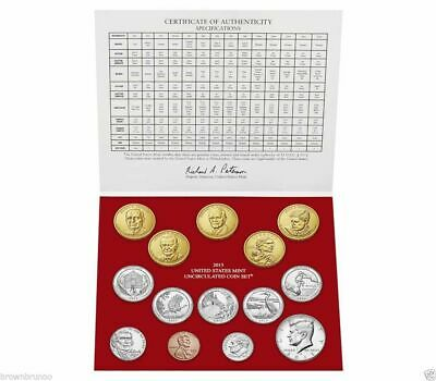 2015-D United States Mint Uncirculated Coin Set 14 Coins DENVER Mint