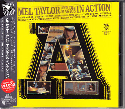 Mel Taylor& The Magics In Action 2013 Japan CD L/E W/Obi Hard to Find Very Rare