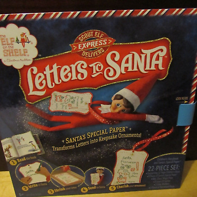 The Elf on the Shelf Scout Elf Express Delivers - Letters to Santa