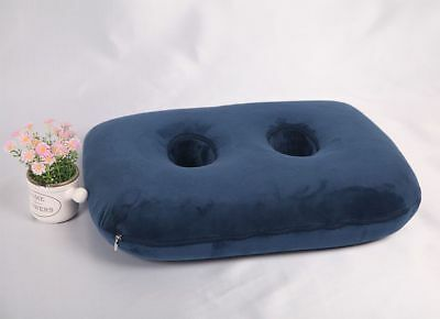 Ischial Tuberosity Bursitis Seat Cushion Pillow with Two Holes for Sitting Bones