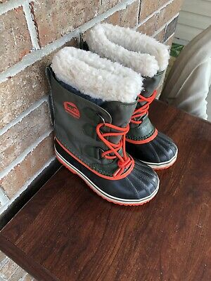 cf5f68fb710 SOREL KIDS' CHILDRENS Yoot Pac Nylon-K Snow Boot, Size: Youth 1. FREE  SHIPPING!