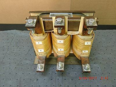 Marelco Power Systems Inc 3-Phase Line Reactor, 8Uh, 414A, 600Vac. P/N: M-207898