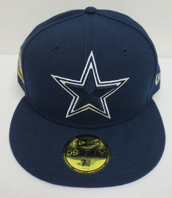 a4da8e64af8 Dallas Cowboys 7 1 2 Hat Cap New Era 59Fifty Fitted 5X Super Bowl Champions