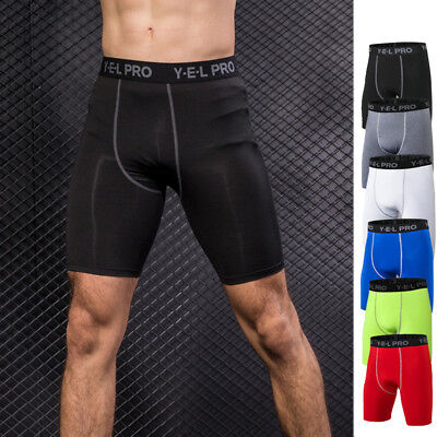 Men's Compression Shorts Cycling Soccer Short Tights Boxers Tight fit Good A237