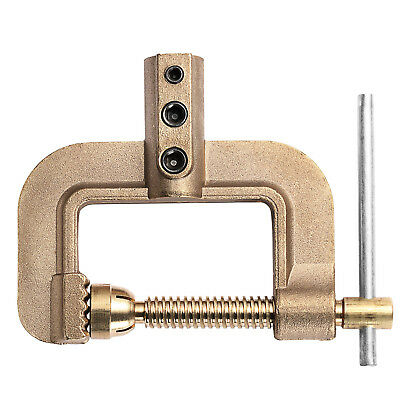 HITBOX NEW 400A Full Copper C Ground Earth Clamp For ARC MMA STICK Welder