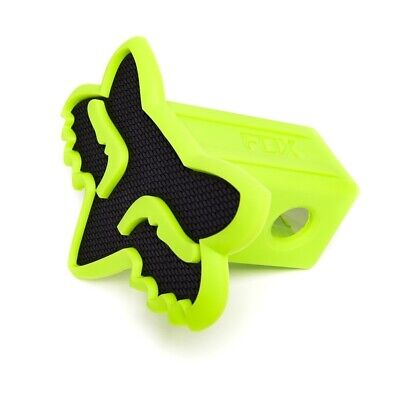 Fox Racing NEW Mx Car Towpoint Vehicle Black Green Foxhead Trailer Hitch Cover