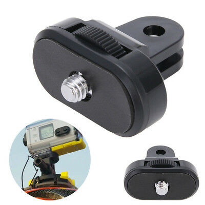 Sony Action Cam Camera Tripod Mount Adapter For Go Pro Mount To 1/4'' Thread