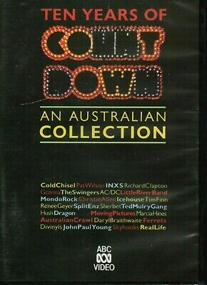 Ten Years Of COUNTDOWN Australian Music Collection DVD NEW & SEALED