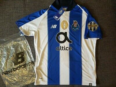 FC Porto official Football Home  Top 2018/ 19 Mens New Balance Size L