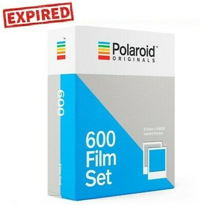 EXPIRED - Polaroid Originals Color & B&W instant film Double Pack for 600 636 US