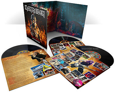 IRON MAIDEN LP x 3 The Book Of Souls LIVE Chapter - triple VINYL Album IN STOCK