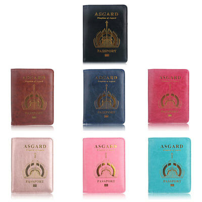 Passport Case Holder RFID Blocking Travel ID Credit Card Wallet Cover Protector