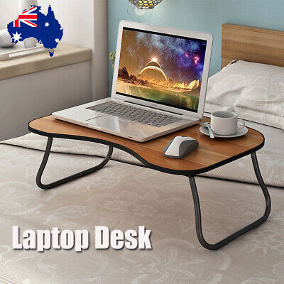 Portable Foldable Adjustable Laptop Lap Stand Ergonomic Tray Table Work Bed Desk