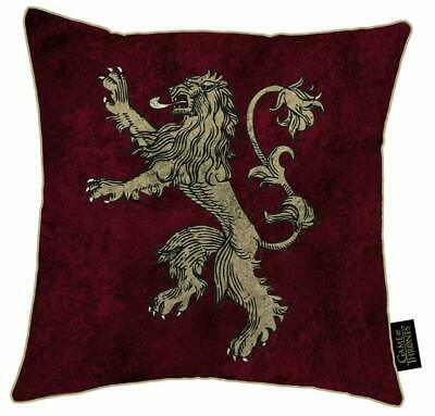 Game Of Thrones Cushion (Official Merchandise) | Westeros Map House Lannister Ho