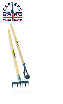 Quality Carters Childrens Garden Digging Mini Small Planting Toolset Rake Hoe