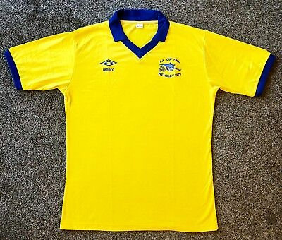 Retro Arsenal 1979 FA Cup Final Shirt ALL SIZES