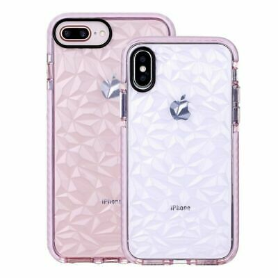 iPhone Xs Max XR 7 8 Plus Crystal Clear Shockproof Silicone TPU Case For Girls
