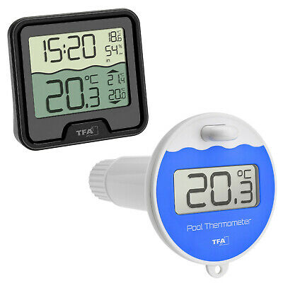 Funk Poolthermometer Marbella Tfa 30.3066.01 Schwimmbadthermometer Pool Teich