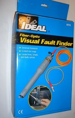Fiber Optic - visual fault finder - ideal VFF5