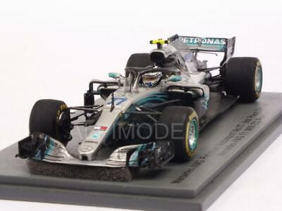 Mercedes W09 AMG F1 GP China 2018 Valtteri Bottas 1:43 SPARK S6053
