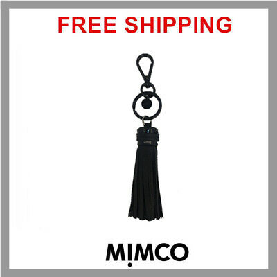 Mimco Tassel keyring BLACK keychain Authentic NEW WITH TAG & Dust Bag DF