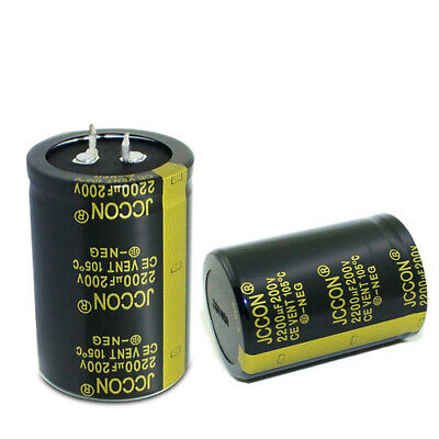 25-450V Radial Aluminium Electrolytic Capacitor High Frequency 220-47000uF 105°C