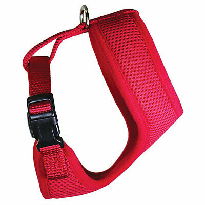 Weaver Leather Adjustable Mesh Chicken Harness Small Red