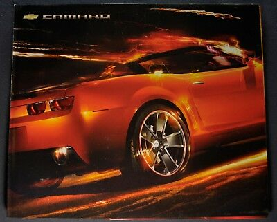 Lot of 2 2010 10 Chevrolet Camaro Concept Poster brochures  MINT
