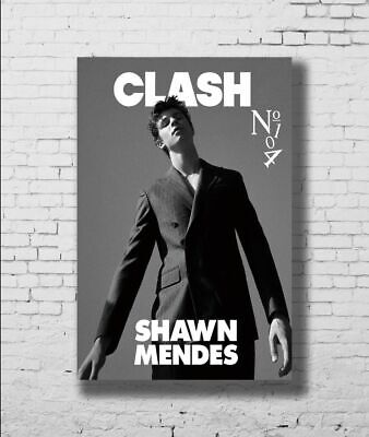 P-193 Art Shawn Mendes Guitar Singer Music Stars Black Canvas Poster 21 24x36in