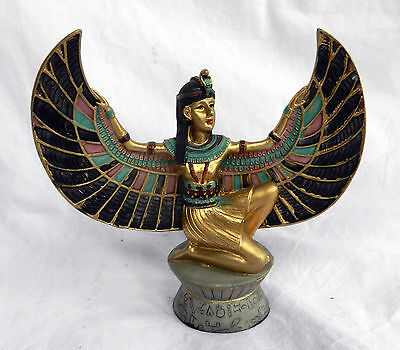 Hand Painted Figure of the Goddess Isis - BNIB