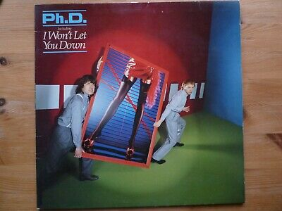 PhD LP / SELF TITLED ( VG / VG 1981 )