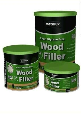 Metalux Timbafil 2 part premium woodfiller 770ml  tin White