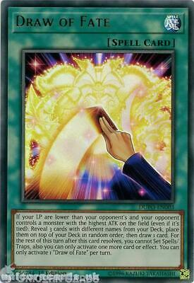 DUPO-EN003 Draw of Fate Ultra Rare 1st Edition Mint YuGiOh Card