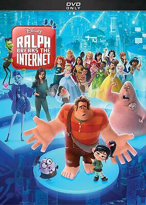 RALPH BREAKS THE INTERNET DVD (region 1) USED DISK ONLY, IN GOOD CONDITION.