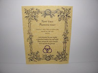 PROTECTION CHANT, BOOK of Shadows Spells Pages, Witchcraft