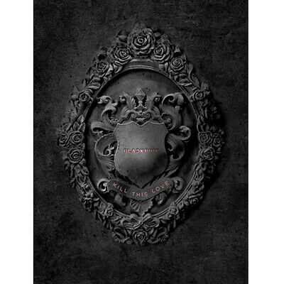 BLACKPINK [KILL THIS LOVE] 2nd Mini Album BLACK CD+Photo Book+Card+F.Poster+etc