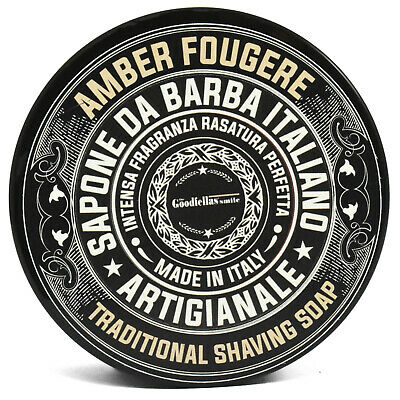 The Goodfellas Amber Fougere Soft Shaving Soap Tub 100ml