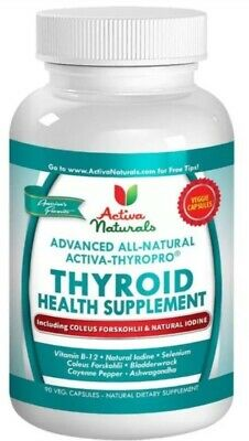Activa Naturals Advanced Thyroid Health Supplement 90 Capsules