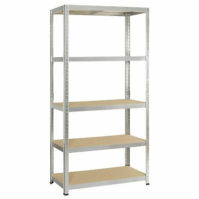 5 Tier Shelving Storage Garage Racks Heavy Duty Steel Warehouse Racking Shelves