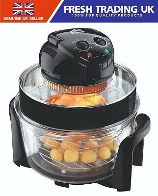 VisiCook Halo Chef CR3TRX Halogen Oven Multi Cooker - 1300W