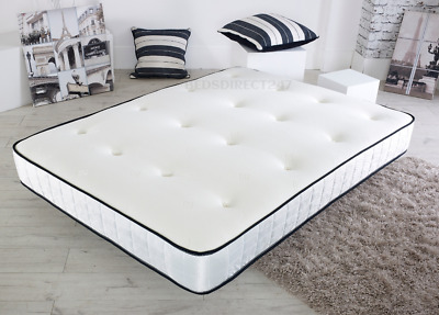 Comfy Sprung Memory Foam - Single,Small,Double , King Size , Super King Mattress