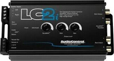 AudioControl LC2i, 2 Channel Line Output Converter 400Watts RMS BRAND NEW