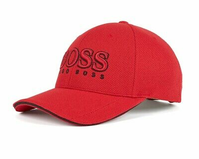 Hugo Boss  Cap US 50251244 622 Mens Baseball Cap Red Golf Cap