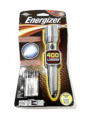 Energizer Torcia Nuova / Max Vision HD Focus 2aa 400 Lumens Brand New Sealed