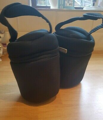 2x Tommee Tippee Closer to Nature Insulated Bottle Carriers. Unused.