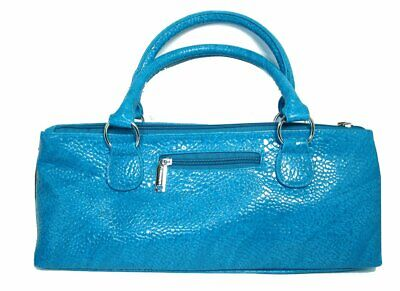 Insulated Wine Handbag - Turquoise Serpent 3025BST