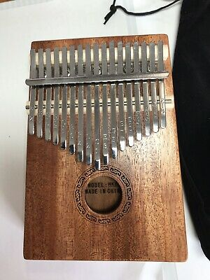 17 Key Kalimba Thumb Piano New With Pouch And Tune Tool.
